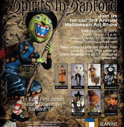 Jeanine Taylor Folk Art Gallery- Artist Show Oct. 2011
