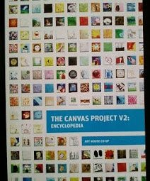The Canvas Project:V2 Publication available through the Art House, Brooklyn, NY